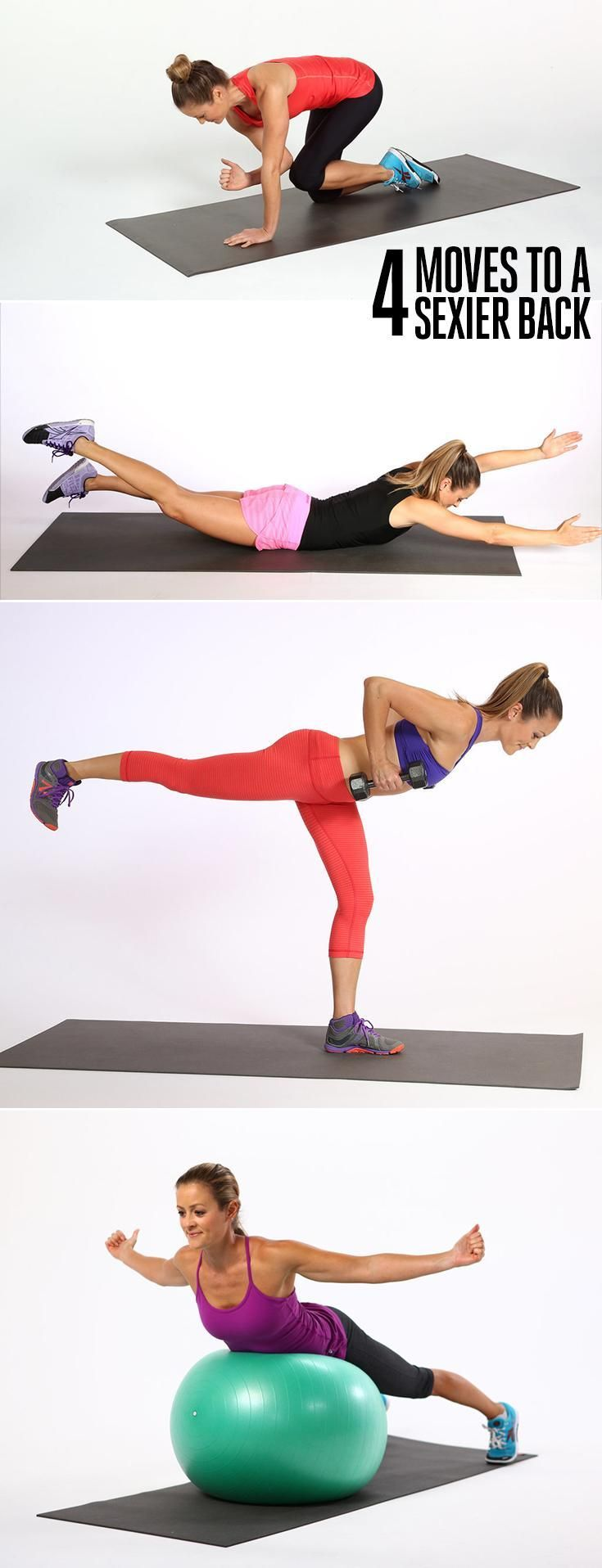 Score a Sexier Back With These 4 Moves