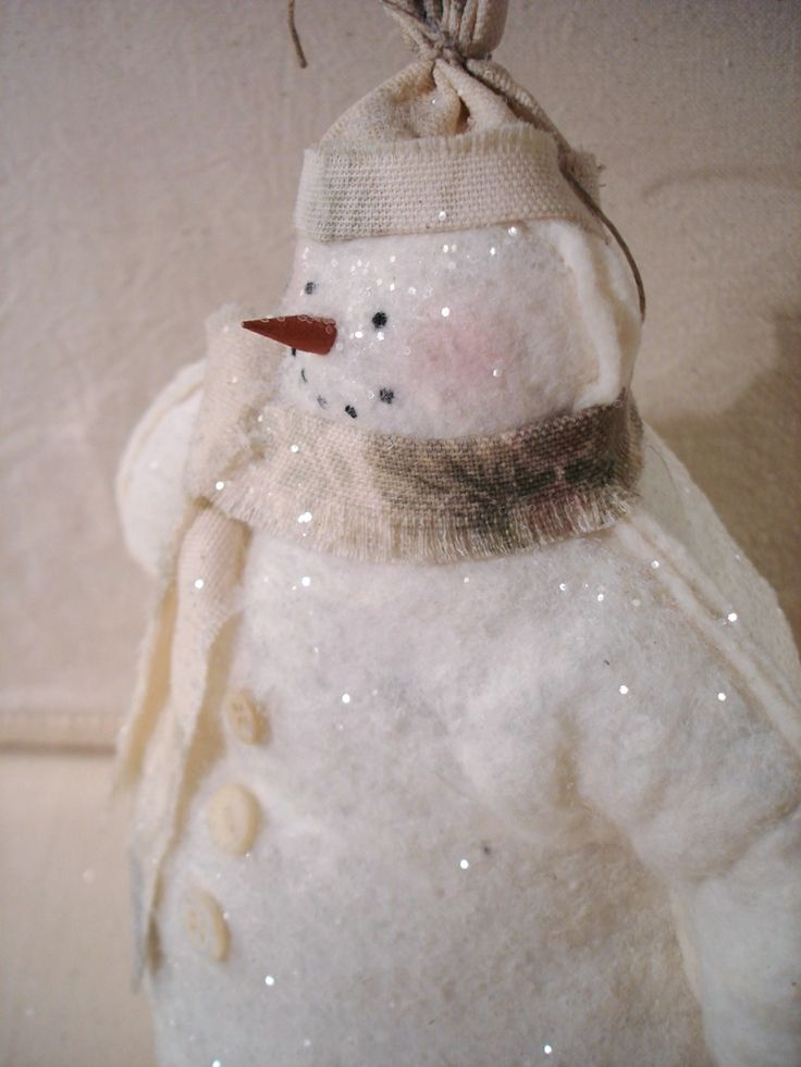 Snowman ornament. I want to make him <3