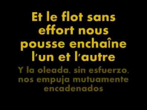 Edith Piaf: La Foule (francés-español) (+playlist)