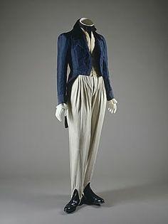 La cintura descendió a su lugar natural y poco a poco fue cada vez más estrecha. Esta nueva tendencia trajo consigo la vuelta del corsé a la indumentaria femenina.