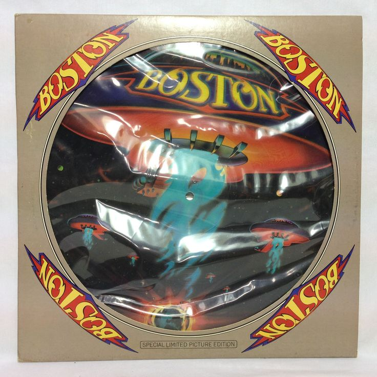 Boston Don T Look Back Usa Lp Picture Disc 1978 In Die
