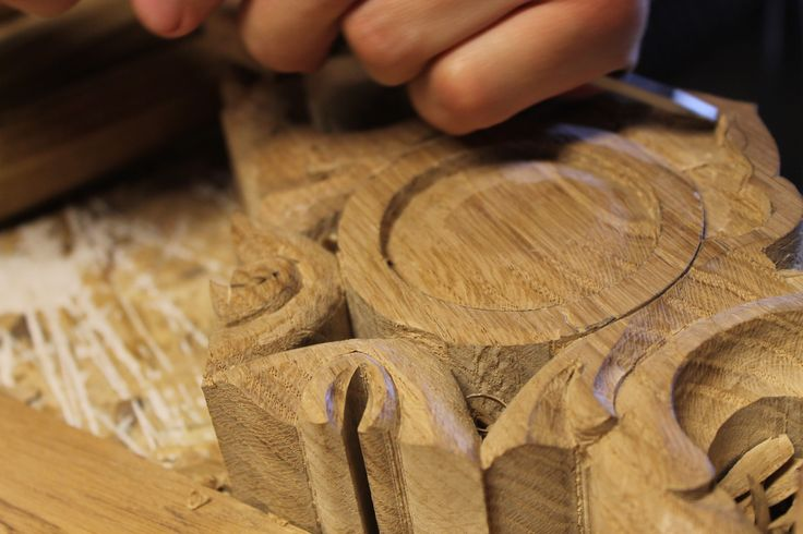 snycerstwo, wood carving, intaglio in legno Dąb, Oak, Quercia