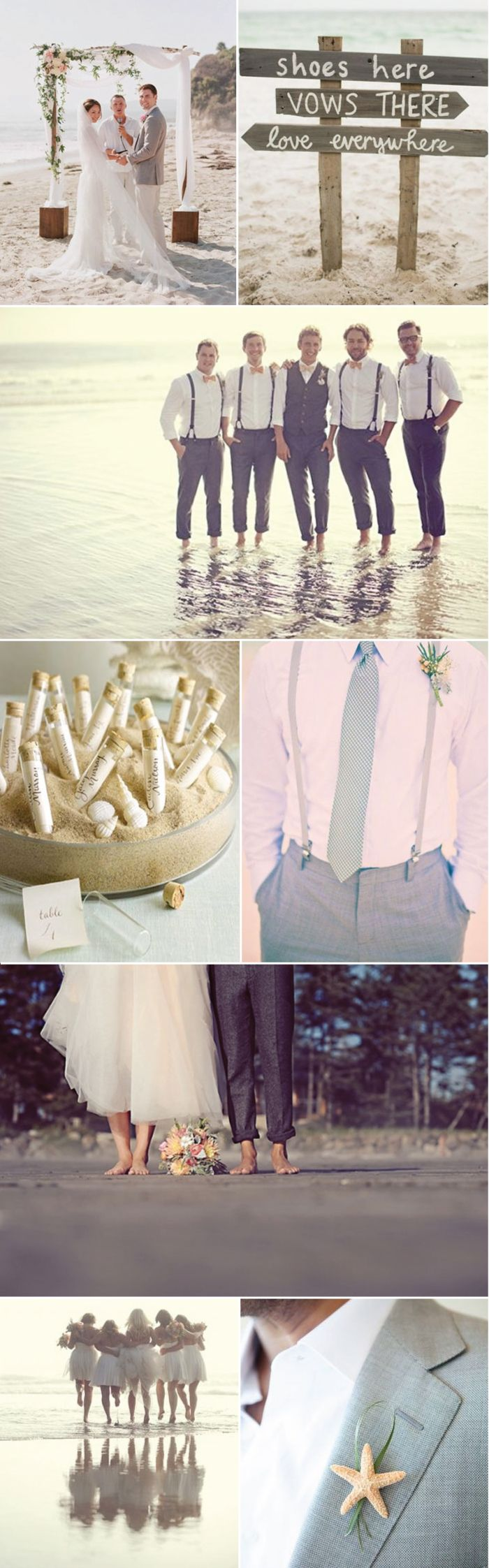 Great Ideas For Your Beach Wedding