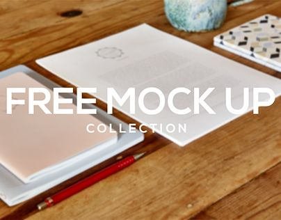 """Check out new work on my @Behance portfolio: """"Free stationery mock ups"""" http://be.net/gallery/41104863/Free-stationery-mock-ups"""