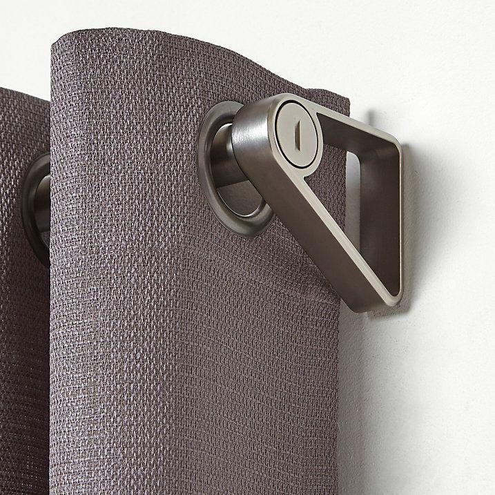 Buy Umbra Covert Extendable Curtain Pole Kit, Satin Nickel, L182.9 - 365.8cm x Dia.25mm Online at johnlewis.com