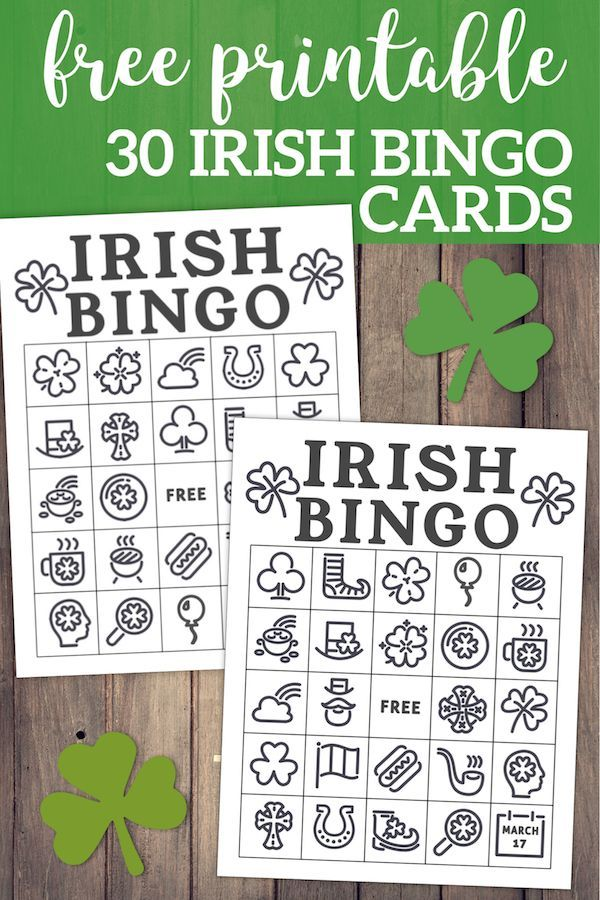 image about St Patrick's Day Bingo Printable identify Cost-free Printable St. Patricks Working day Bingo Playing cards Cost-free