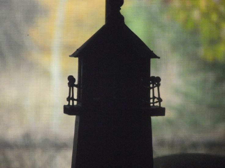 Lighthouse in the wind