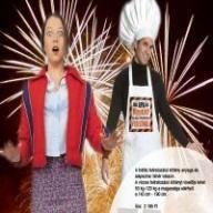 Családi grillezéshez ajánljuk! Ma apa főz! Vigyázat! Tűz, égés és robbanásveszély! Fedezékbe!
