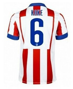 Atletico Madrid magliette da calcio 2015 KOKE 6 - Home