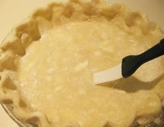 The trick to Prevent a Soggy Bottom Pie Crust is? tutorial