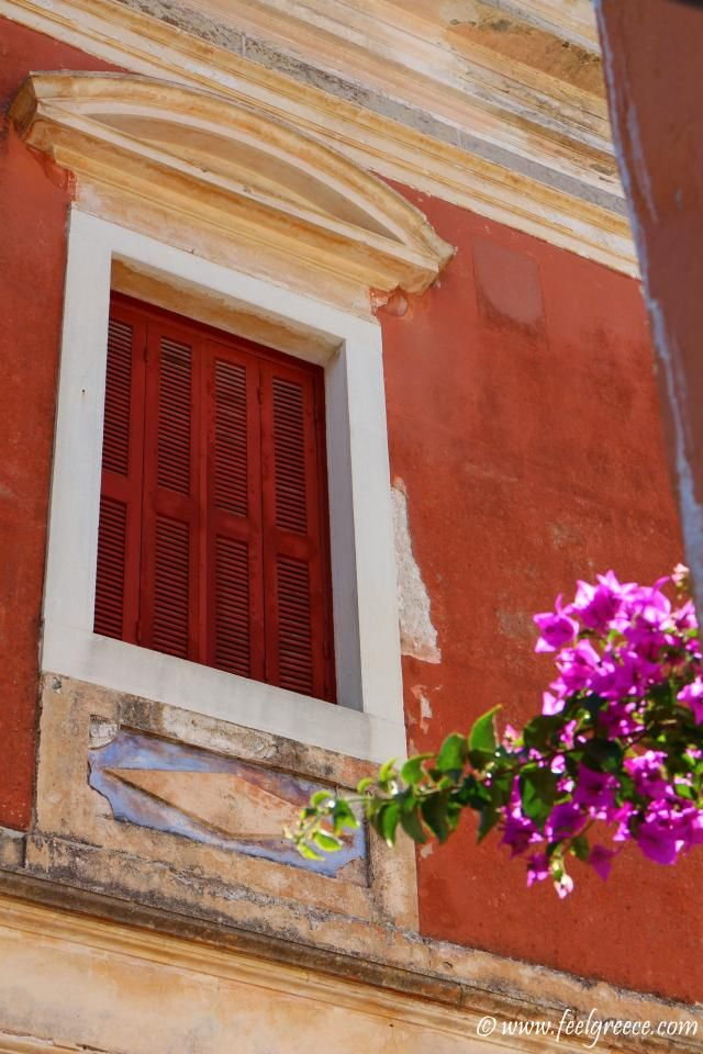 A private old house on Gaios promenade, Paxos Island