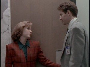 'Eight million years out of Africa...' 'And look who's holding the door.' | Mulder & Scully, The Jersey Devil