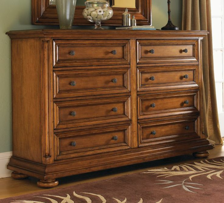Island Estate Martinique 8 Drawer Double Dresser