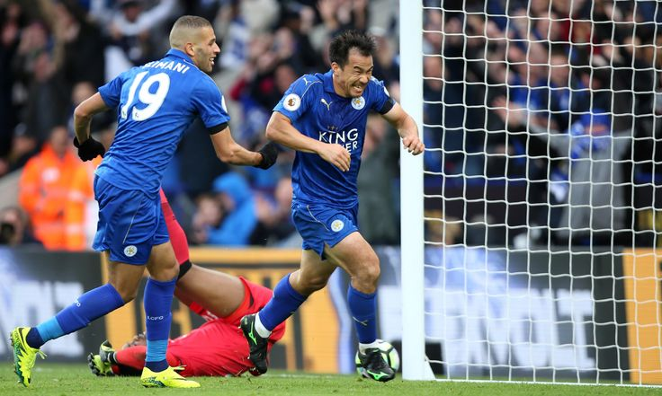 Leicester on track as Shinji Okazaki shines in win over Crystal Palace