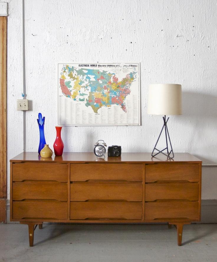 Mid Century Stanley Dresser $650   Chicago Http://furnishly.com/catalog