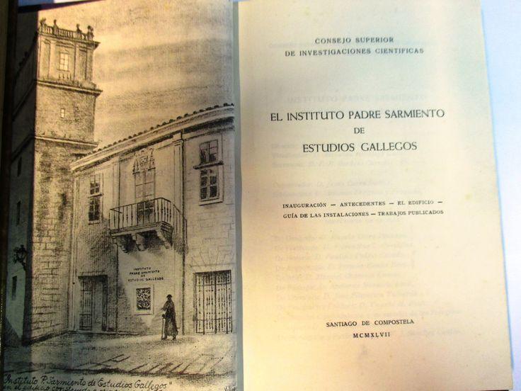 15 best images about instituto de estudios gallegos padre - Estudios santiago de compostela ...