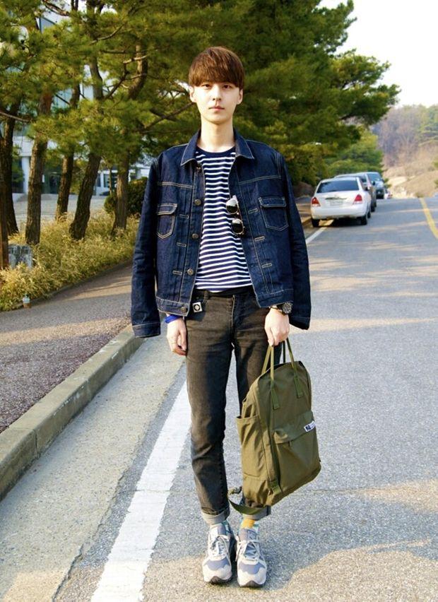 Korean fashion blogger Kim Myung Jun #blogger #fashionblogger