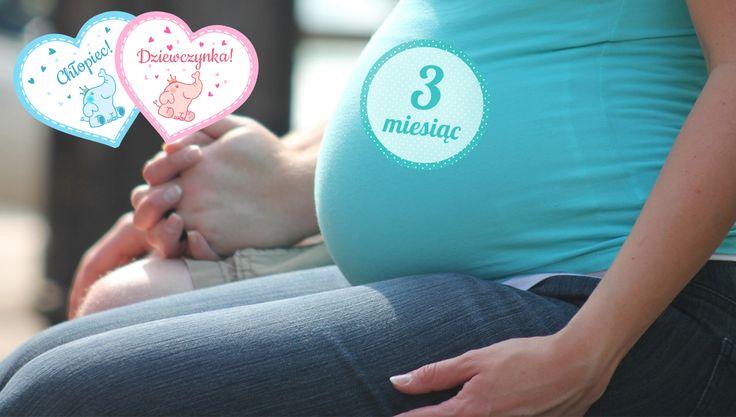 Naklejki na brzuszek ciążowy za darmo – edytowalne