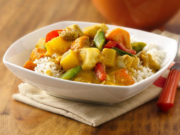 Chicken and veggies curry