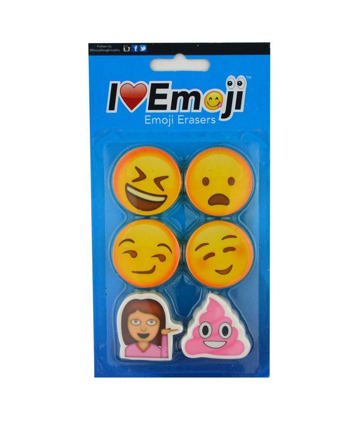 Emoji Eraser Pack (Set 4)