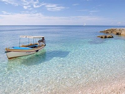 """Mali Losinj, Croatia.....i've been here! where i met Andy's parents for the first time!!!! but i don 't remember the water being so """"tropical"""" looking!!!"""