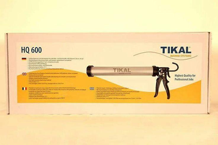 Πιστόλι χειρός της Tikal για την εφαρμογή υλικών συγκόλλησης. Συμβατό με τα σαλάμια 600ml. 2104611554 2104630676 6974065838 6972179416 www.theppsltd.thepps.eu  Η ΛΥΣΗ