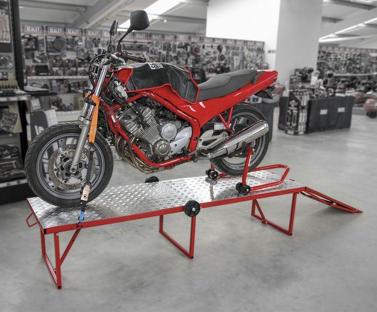 Motorcycle Portable Folding Workbench 360kg Capacity