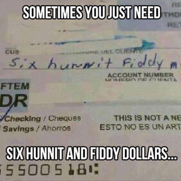 Hahaha-six hunnit fiddy!!!!!! I laughed more then I should have!