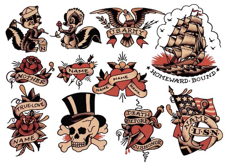269 best images about sailor jerry vintage tattoo designs on pinterest rockabilly ink and. Black Bedroom Furniture Sets. Home Design Ideas