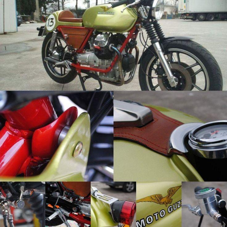 Attention to detail. motoofficina motoguzzi caferacer