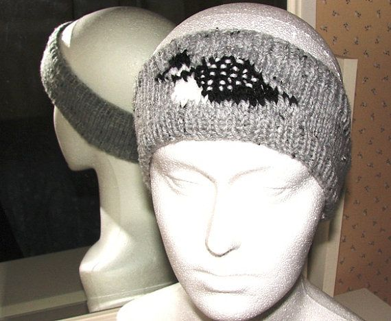 Loon headband handmade knitted matching accessory by Loonville