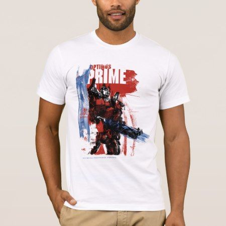 Optimus Prime Brush Strokes T-Shirt - click/tap to personalize and buy