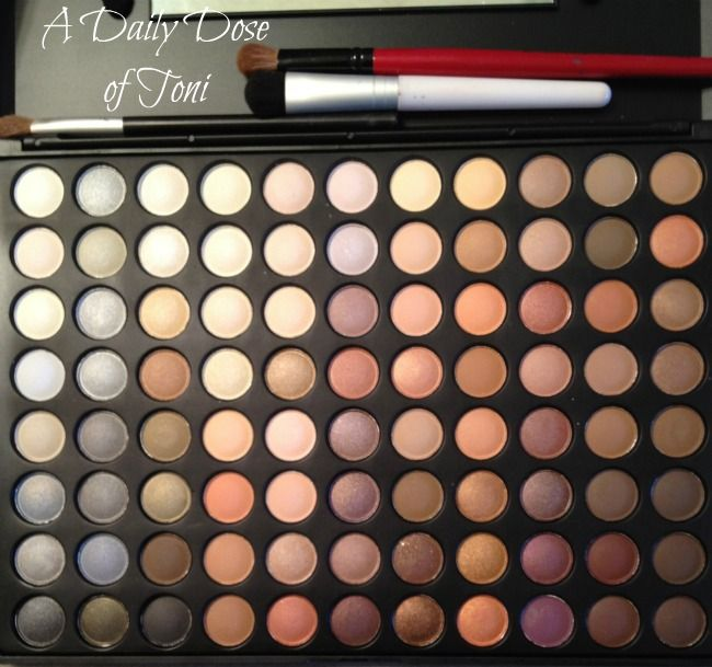 Coastal Scents 88 Color Makeup Palette in warm.  I got this in the fall and I absolutely love it!
