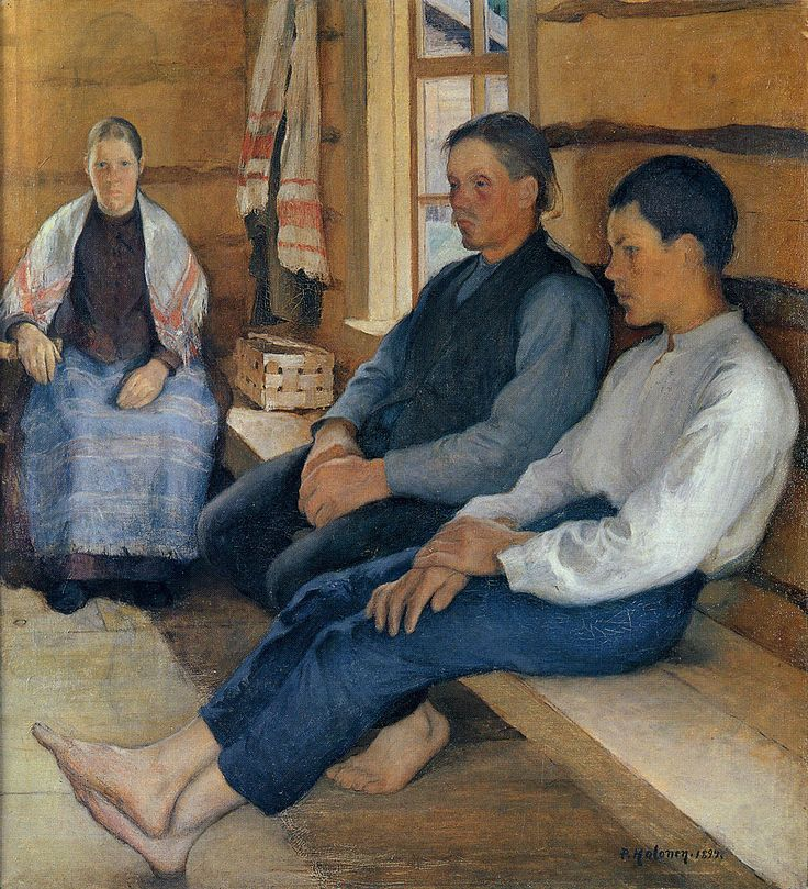 The Athenaeum - Holiday in the New House (Pekka Halonen - )