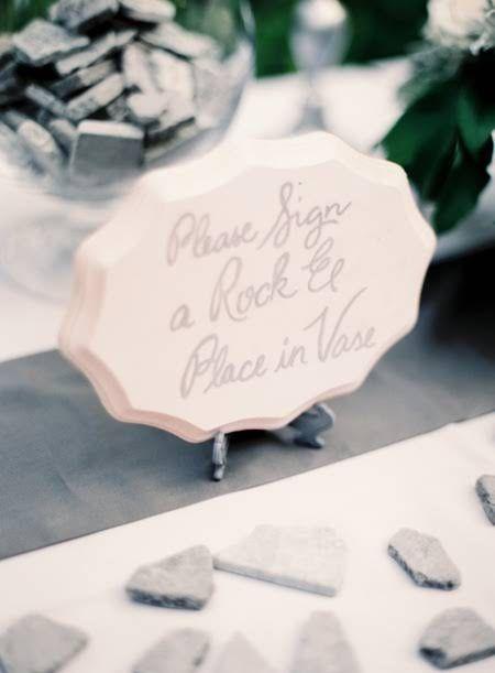 Unique Wedding Guest Book Idea-I'm definitely having this!