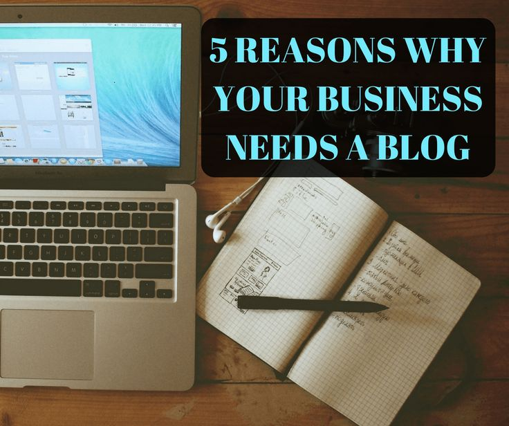 5 Reasons Your Business Needs a Blog Blog, How to make