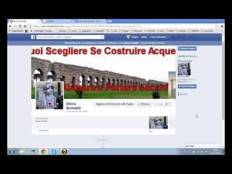 Creare una pagina fan su facebook Prima parte