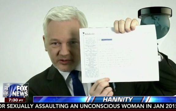"""Julian Assange: We Have Thousands of Cables Hillary Signed with """"C"""" for Confidential- She Told FBI She Didn't Know What It Meant (9/6/16)"""