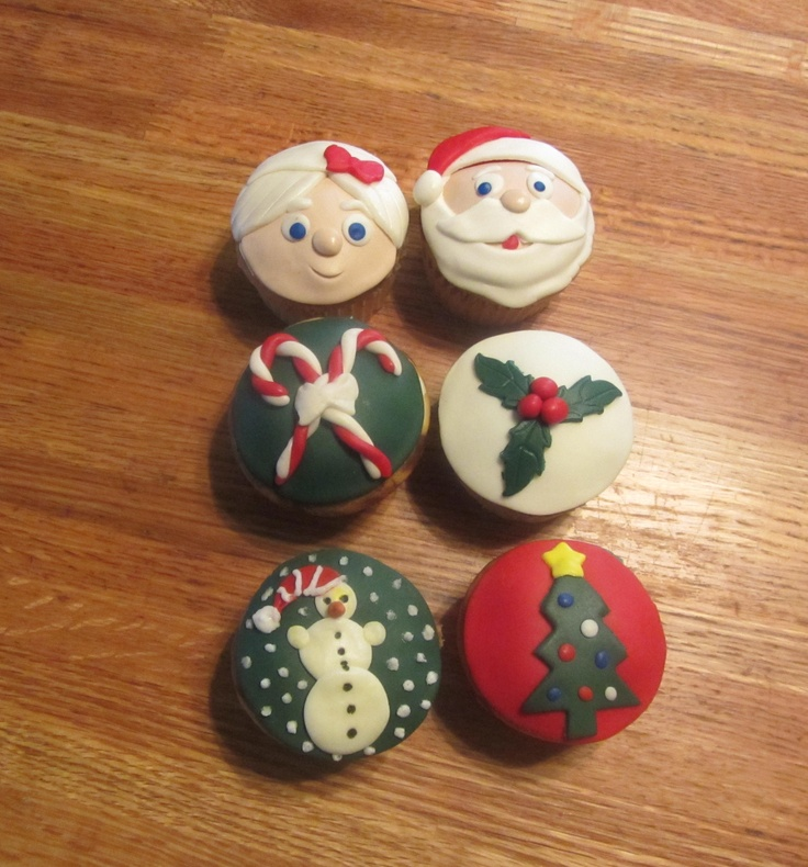 Christmas Cupkakes