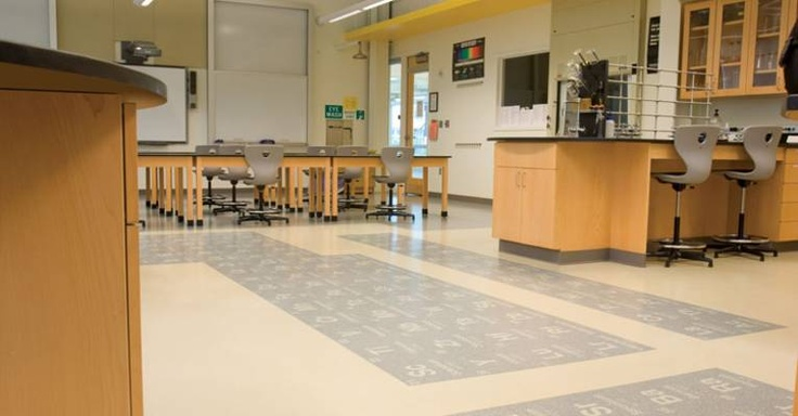 Periodic table flooring | nora Rubber Flooring Systems