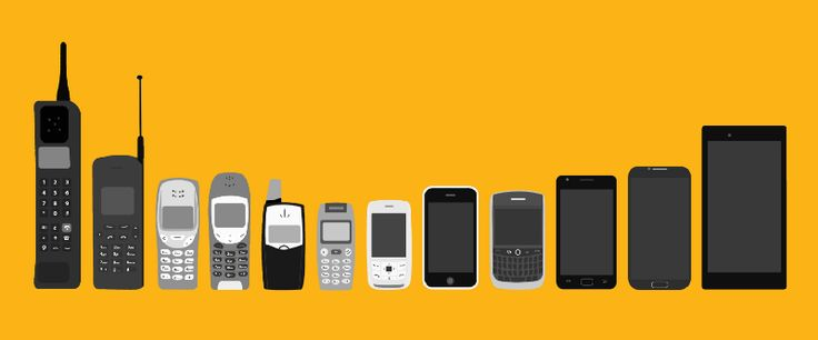 The Evolution Of The Mobile Phone Perfectly Illustrated In One Image - The evolution of the mobile phone perfectly illustrated in one image