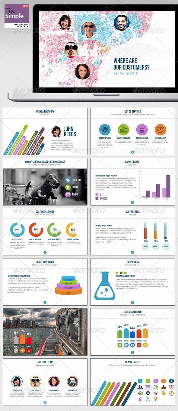 TheSimple Powerpoint Template - Presentation Templates
