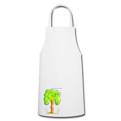 Do you like Nature? You'll love this trees inspired pinny. Cooking clothes.