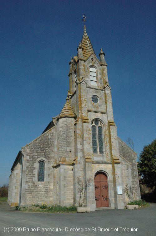 Église St-André, à Saint-André-des-Eaux.