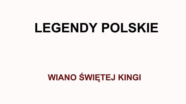 Wiano świętej Kingi - Legendy polskie