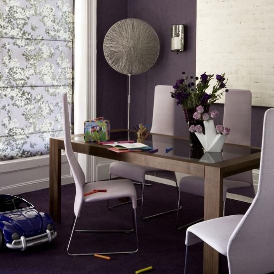 Die besten 25+ Purple dining room furniture Ideen auf Pinterest - wohnzimmer grau lila