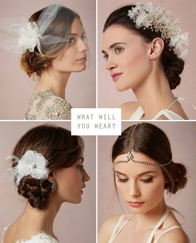 our fave new wedding veils + hair accessories