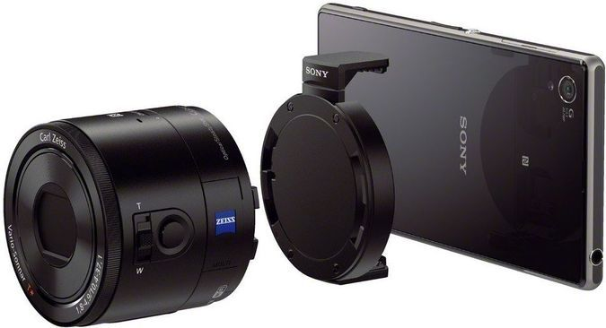 Sony DSC-QX100 - The Attachable Lens That Will Transform Your Smartphone Into A Pro Photo Camera