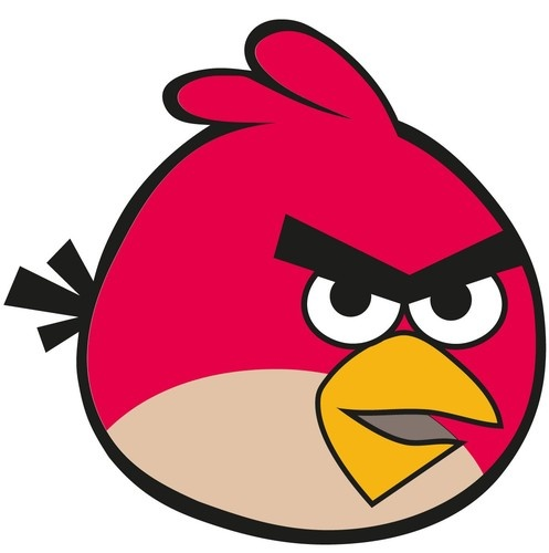 Angry Birds Wall Decal, $3.95