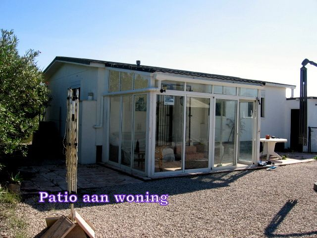 Mobile Home With Conservatory For Sale On A Large Plot Of Land Near To Santa Ana Beach In Oliva, Costa Blanca, Spain. This is a great opportunity for someone looking to purchase a property in Spain…